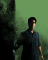 Stiles (backdrop) - teen-wolf photo