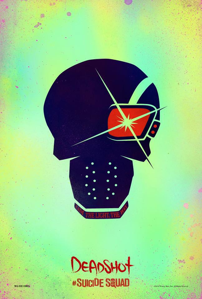 Suicide Squad Skull Poster - Deadshot