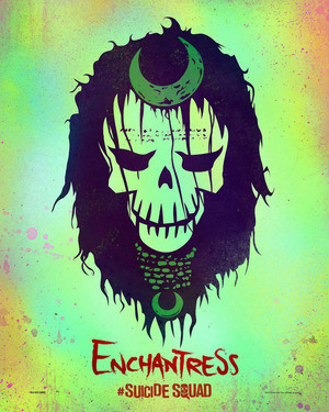Suicide Squad Skull Poster - Enchantress