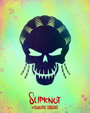 Suicide Squad Skull Poster - Slipknot