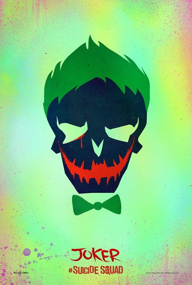 Suicide Squad Skull Poster - The Joker