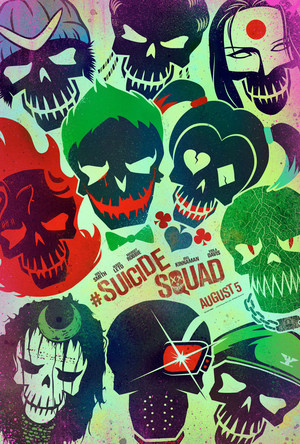 Suicide Squad - Skull Poster