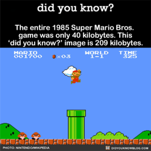 Super Mario Bros. Fact
