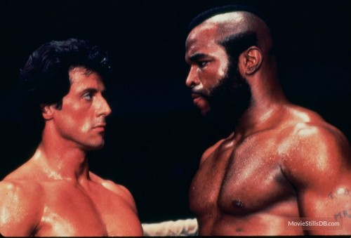 Sylvester Stallone wallpaper containing a hunk called Sylvester Stallone and Mr. T