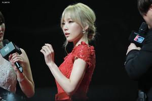Taeyeon in MAMA