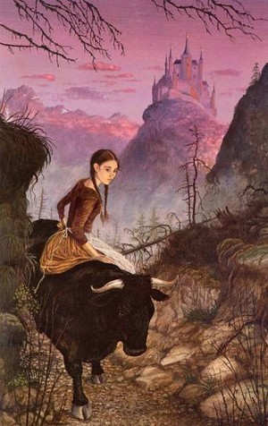 The Black stier, bull of Norroway