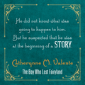 The Boy Who Lost Fairyland quote