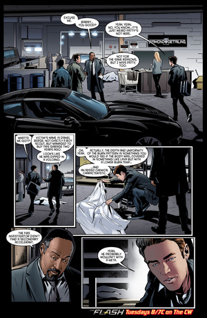The Flash - Episode 2.12 - Fast Lane - Comic cuplikan