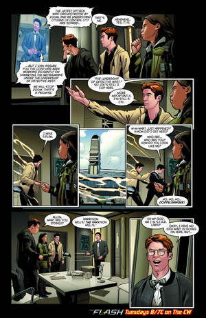 The Flash - Episode 2.13 - Welcome to Earth-2 - Comic cuplikan