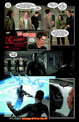 The Flash - Episode 2.14 - Escape from Earth-2 - Comic 미리 보기