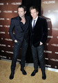 The Following World Premiere - James Purefot and Kevin Bacon - the-following photo