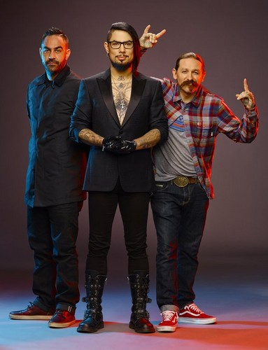 Ink Master wallpaper containing a business suit, a well dressed person, and a hip boot called The Judges | Ink Master: Revenge (Season 7)