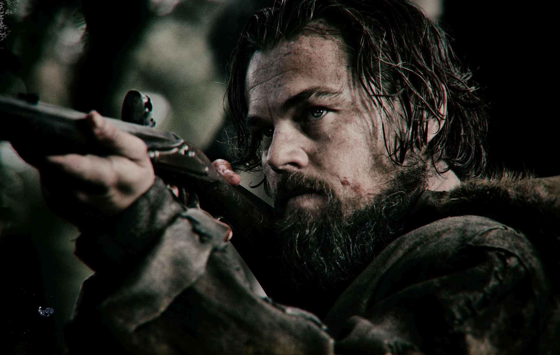 the revenant images the revenant - leonardo dicaprio as hugh glass