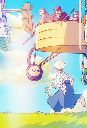 The Wind Rises Phone Background