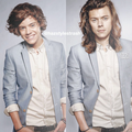Then and Now - harry-styles fan art