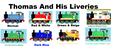 Thomas And His Liveries - thomas-the-tank-engine photo
