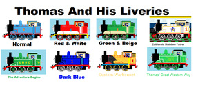 Thomas And His Liveries