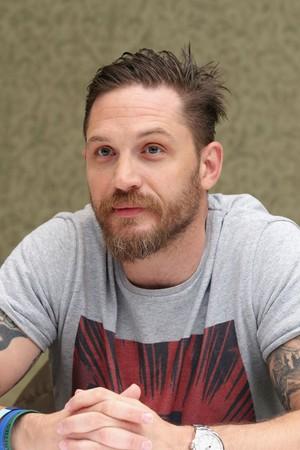 Tom Hardy ~ 'Legend' Press Conference