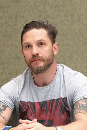 Tom Hardy ~ 'Legend' Press Conference
