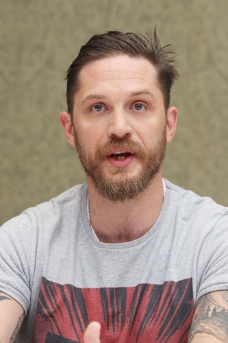 Tom Hardy wallpaper called Tom Hardy ~ 'Legend' Press Conference
