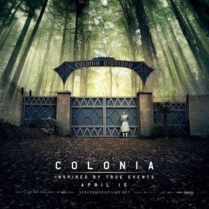 US poster of Colonia
