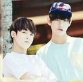 """V and kookie°*""""˜˜""""*°•.ƸӜƷ - kpop photo"""