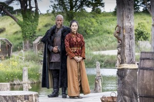 Vikings Ragnar and Yidu Season 4 Official Picture