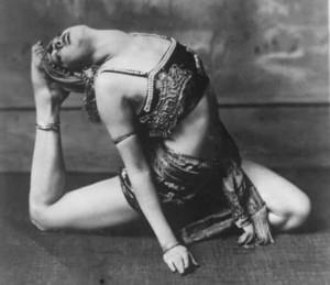 Vintage contortionist