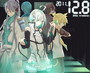 Vocaloid ~ Piko, Len, KAITO, Gackpo, and Kiyoteru
