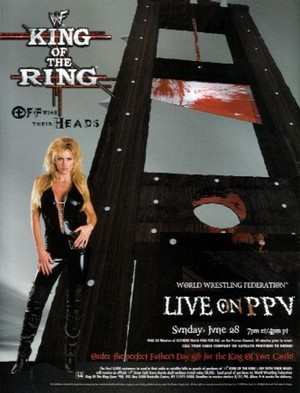 WWF King Of The Ring 1998 Poster