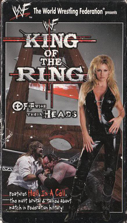 WWF King Of The Ring 1998 US VHS Cover