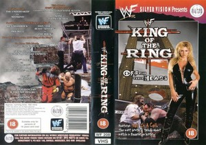 WWF King of the Ring 1998 UK VHS Cover