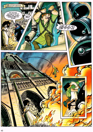 Walt डिज़्नी Movie Comics - The Hunchback of Notre Dame (Danish Version)