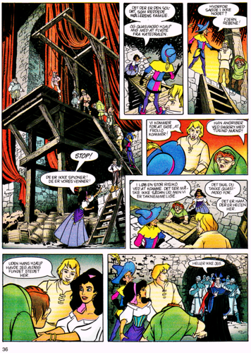 월트 디즈니 캐릭터 바탕화면 containing 아니메 titled Walt 디즈니 Movie Comics - The Hunchback of Notre Dame (Danish Version)