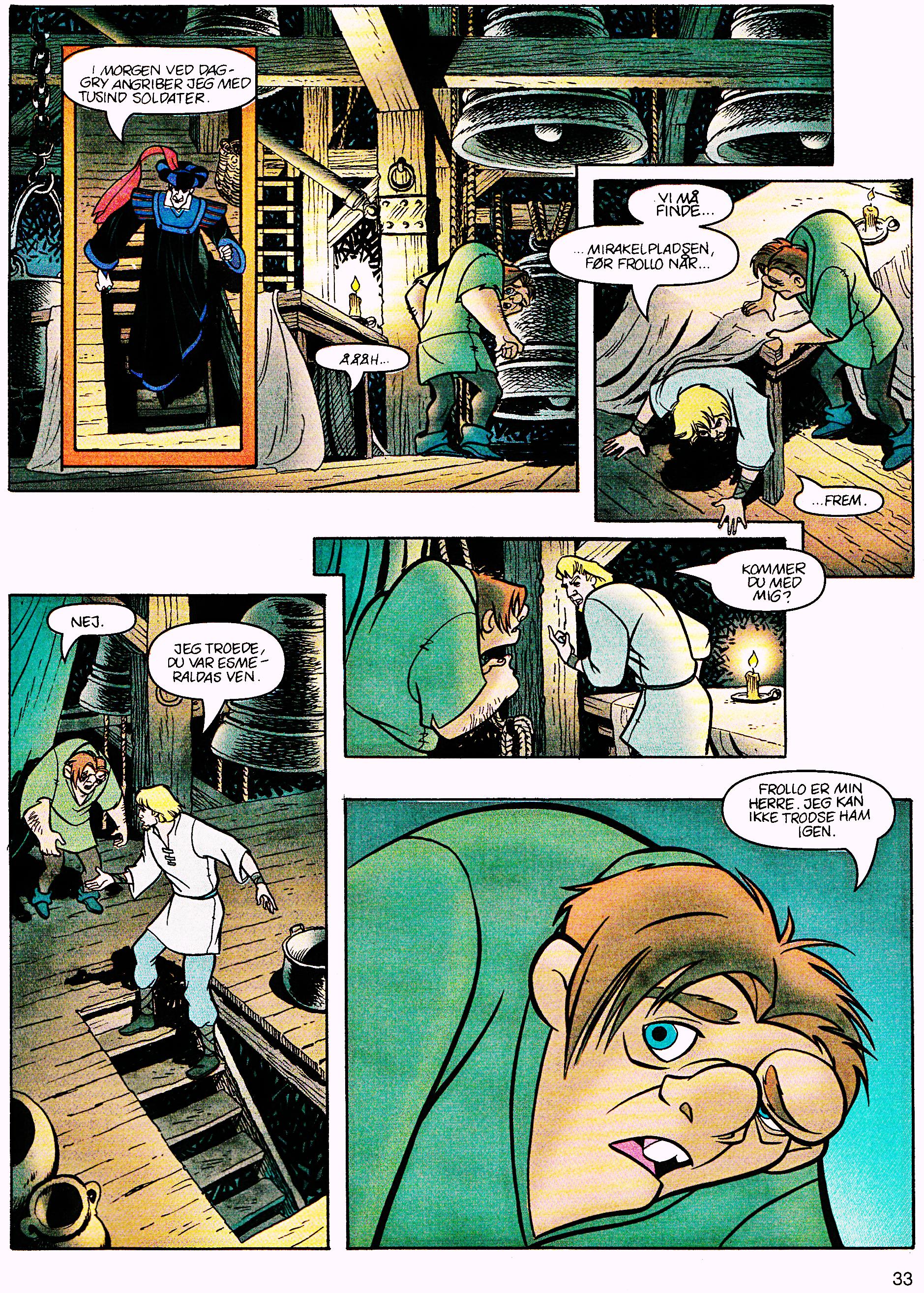 Walt Disney Movie Comics - The Hunchback of Notre Dame (Danish Version)