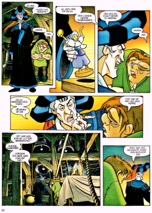 Walt Disney Movie Comics - The Hunchback of Notre Dame (Danish Version)