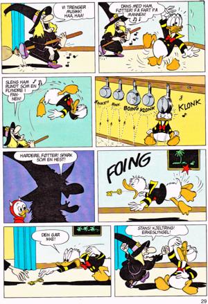 Walt Disney Movie Comics - Trick Or Treat (Norwegian Version)