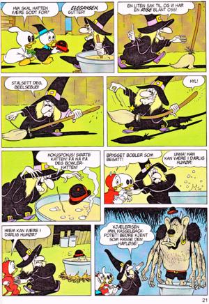 Walt Disney Movie Comics - Trick ou Treat (Norwegian Version)