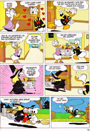 Walt Disney Movie Comics - Trick atau Treat (Norwegian Version)