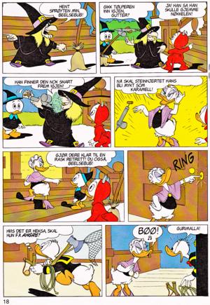 Walt 디즈니 Movie Comics - Trick 또는 Treat (Norwegian Version)