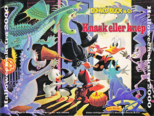 Walt disney Movie Comics - Trick o Treat (Norwegian Version)