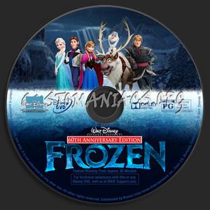 Walt Disney Pictures Presents 60th Anniversary Edition La Reine des Neiges DVD CD