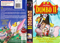 Walt Дисней Pictures Presents Dumbo 2 VHS