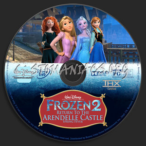 Walt Disney Pictures Presents Frozen 2 Return To The Arendelle istana, castle Spring Fever (2001) DVD CD