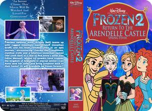 Walt disney Pictures Presents Frozen 2 Return To The Arendelle kastil, castle Spring Fever (2001) VHS