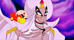 Walt Дисней Screencaps - Iago & Jafar