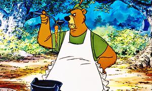 Walt Disney Screencaps - Little John