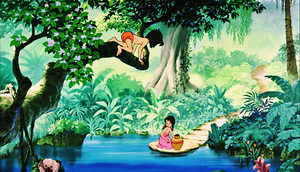 Walt Disney Screencaps - Mowgli & Shanti