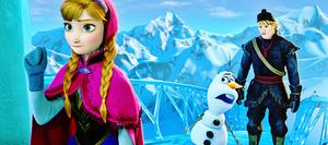 Walt disney Screencaps - Princess Anna, Olaf & Kristoff Bjorgman