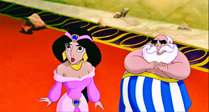 Walt Дисней Screencaps - Princess жасмин & The Sultan